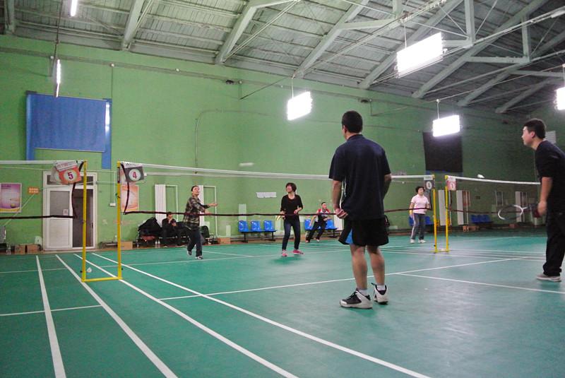 With Thai union sales badminton activity